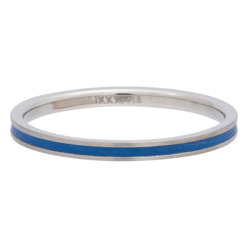 iXXXi Jewelry iXXXi vulring 2 mm Line Blue Matt R02311-04