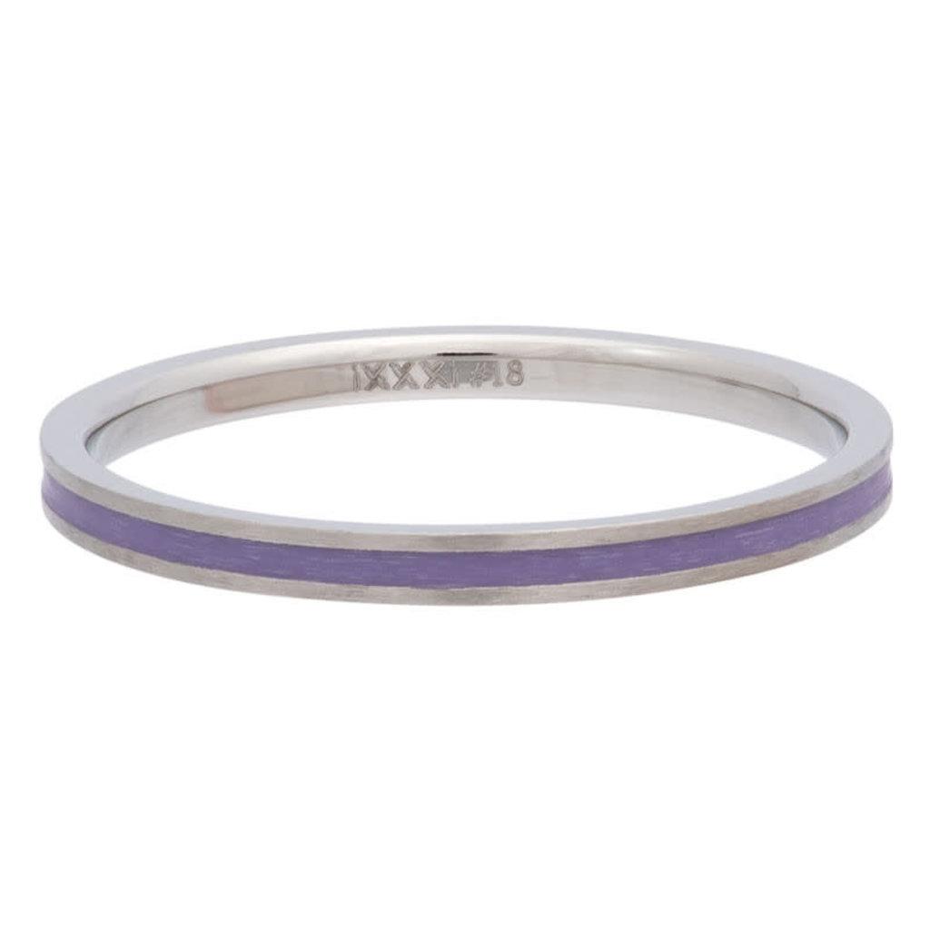 iXXXi Jewelry iXXXi vulring 2 mm Line Purple Matt R02312-04
