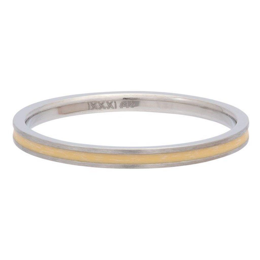 iXXXi Jewelry iXXXi vulring 2 mm Line Yellow Matt R02309-04