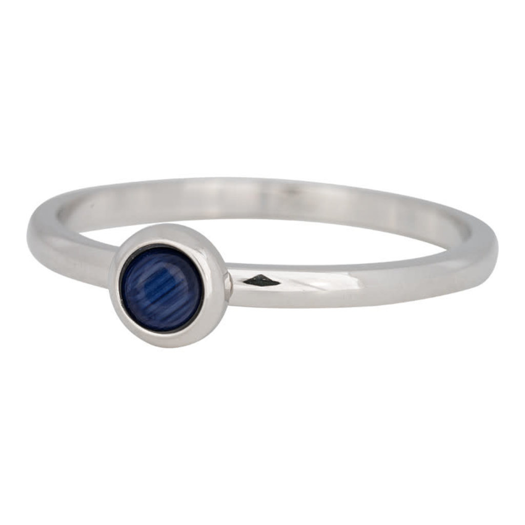 iXXXi Jewelry iXXXi vulring 2 mm Natural Stone Navy Blue Stainless Steel R04102-03