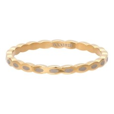 iXXXi Jewelry iXXXi vulring 2 mm Oval Shape Gold Plated R02815-01