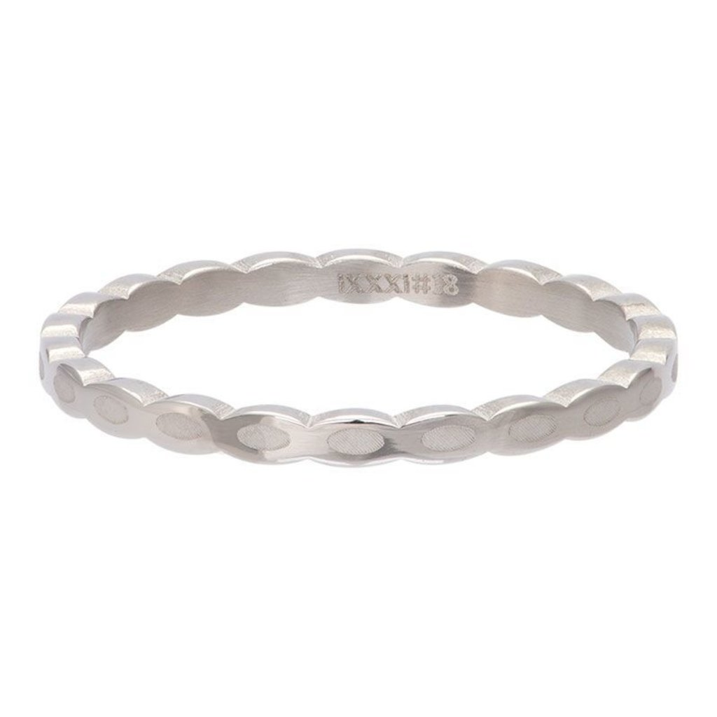 iXXXi Jewelry iXXXi vulring 2 mm Oval Shape Stainless Steel R02815-03