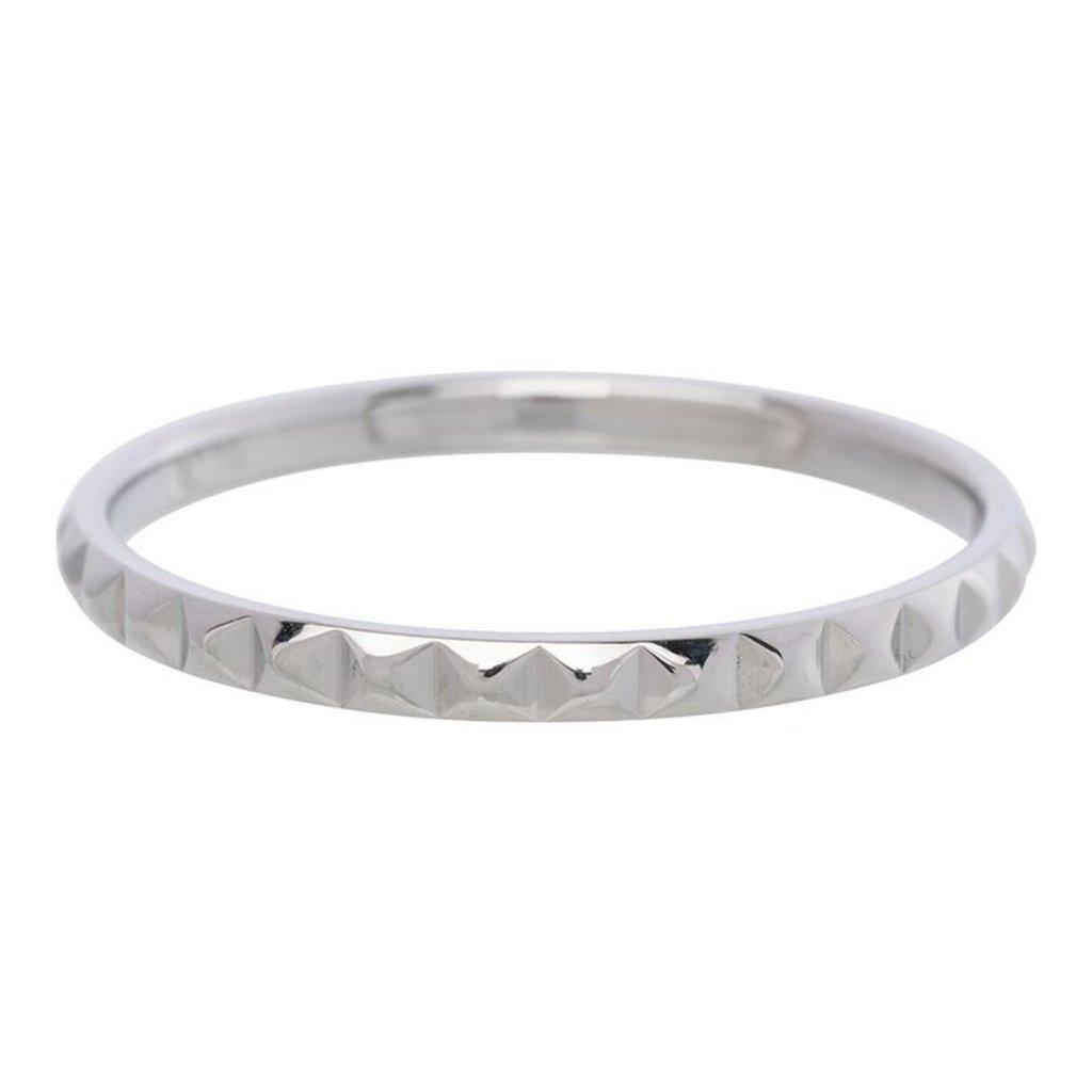 iXXXi Jewelry iXXXi vulring 2 mm Pyramid Stainless Steel R02804-03