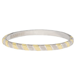 iXXXi Jewelry iXXXi vulring 2 mm Rope Bicolor Gold Plated R04501-12