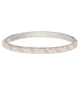 iXXXi Jewelry iXXXi vulring 2 mm Rope Bicolor Rosé Gold Plated R04501-13