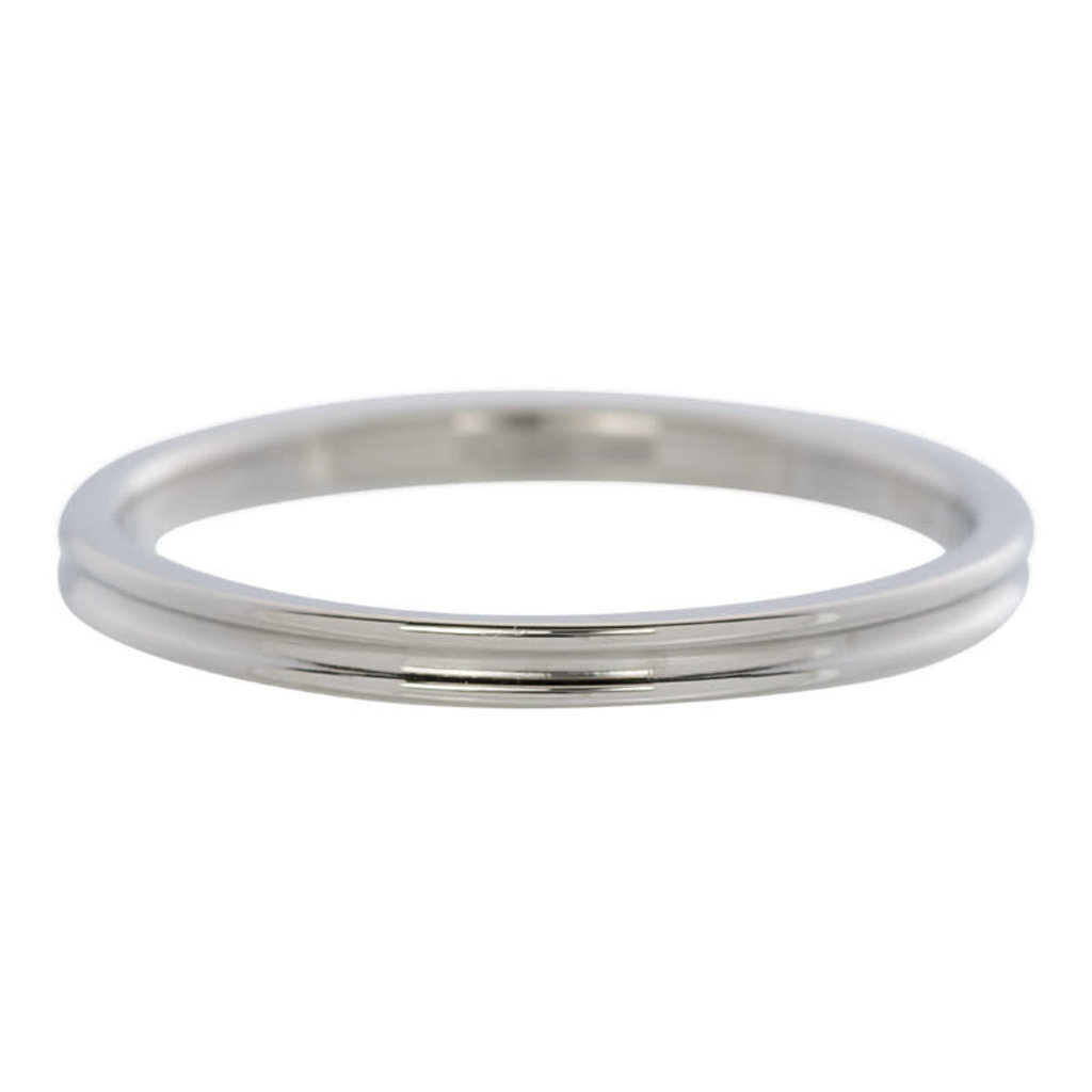 iXXXi Jewelry iXXXi vulring 2 mm Small Ribbed Stainless Steel R02302-03