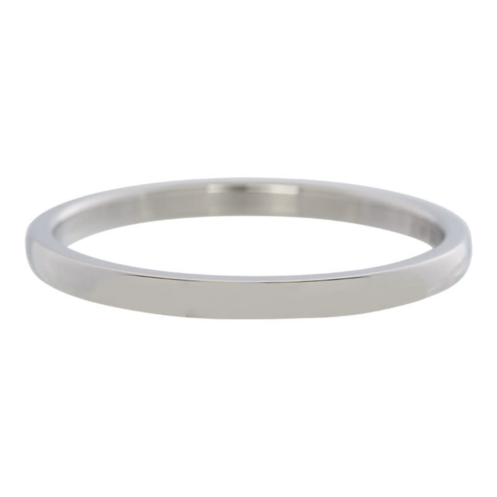 iXXXi Jewelry iXXXi vulring 2 mm Small Smooth Stainless Steel R02301-03