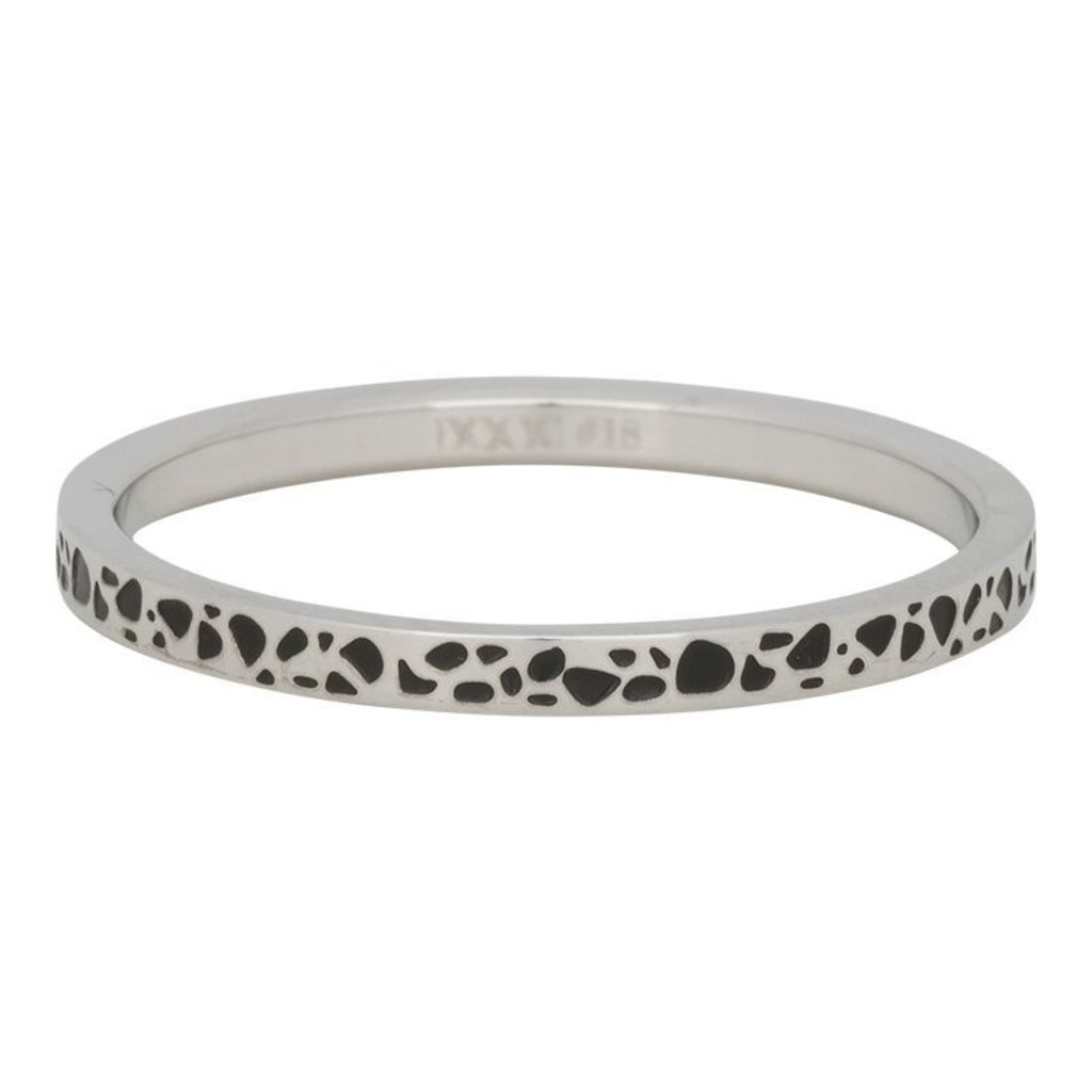 iXXXi Jewelry iXXXi vulring 2 mm Spots Stainless Steel Fill In R02813-18