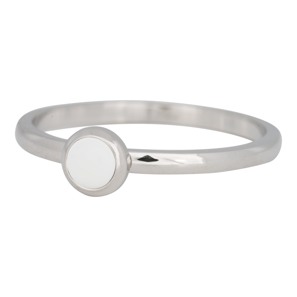 iXXXi Jewelry iXXXi vulring 2 mm Stone Bright White Stainless Steel R04108-03