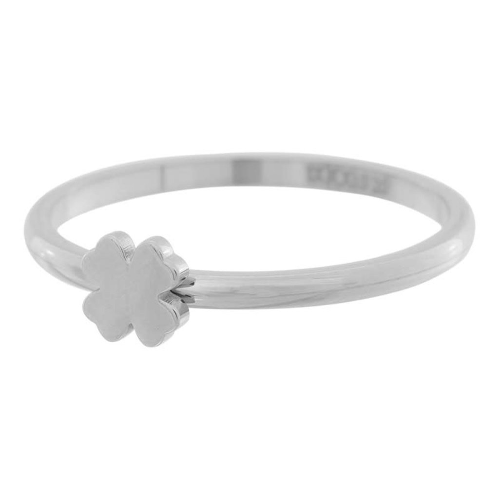 iXXXi Jewelry iXXXi vulring 2 mm Symbol Clover Stainless Steel R03502-03
