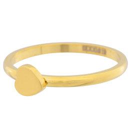 iXXXi Jewelry iXXXi vulring 2 mm Symbol Heart Gold Plated R03501-01