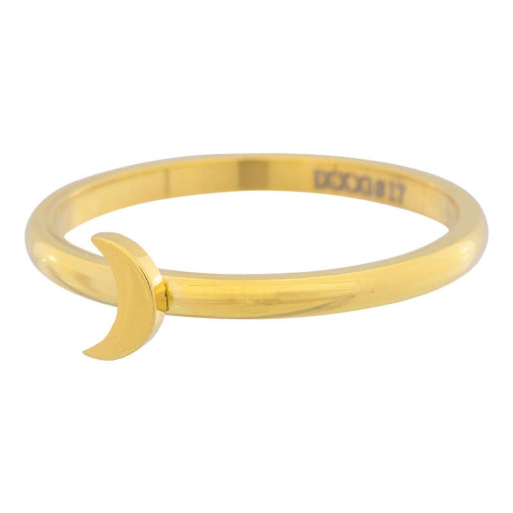 iXXXi Jewelry iXXXi vulring 2 mm Symbol Moon Gold Plated R03503-01