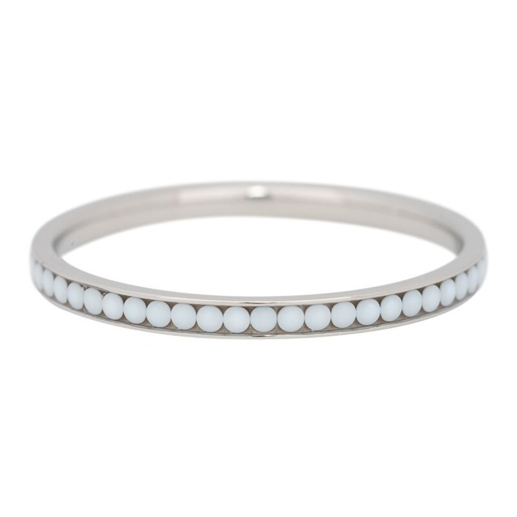 iXXXi Jewelry iXXXi vulring 2 mm White Stone Stainless Steel R02518-03