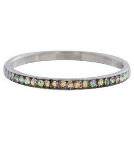 iXXXi Jewelry iXXXi vulring 2 mm Zirconia AB Crystal Stainless Steel R02502-03