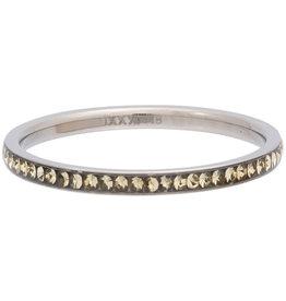 iXXXi Jewelry iXXXi vulring 2 mm Zirconia Blond Flare Stainless Steel R02522-03
