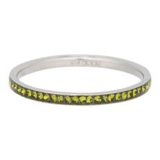 iXXXi Jewelry iXXXi vulring 2 mm Zirconia Olivina Stainless Steel R02517-03