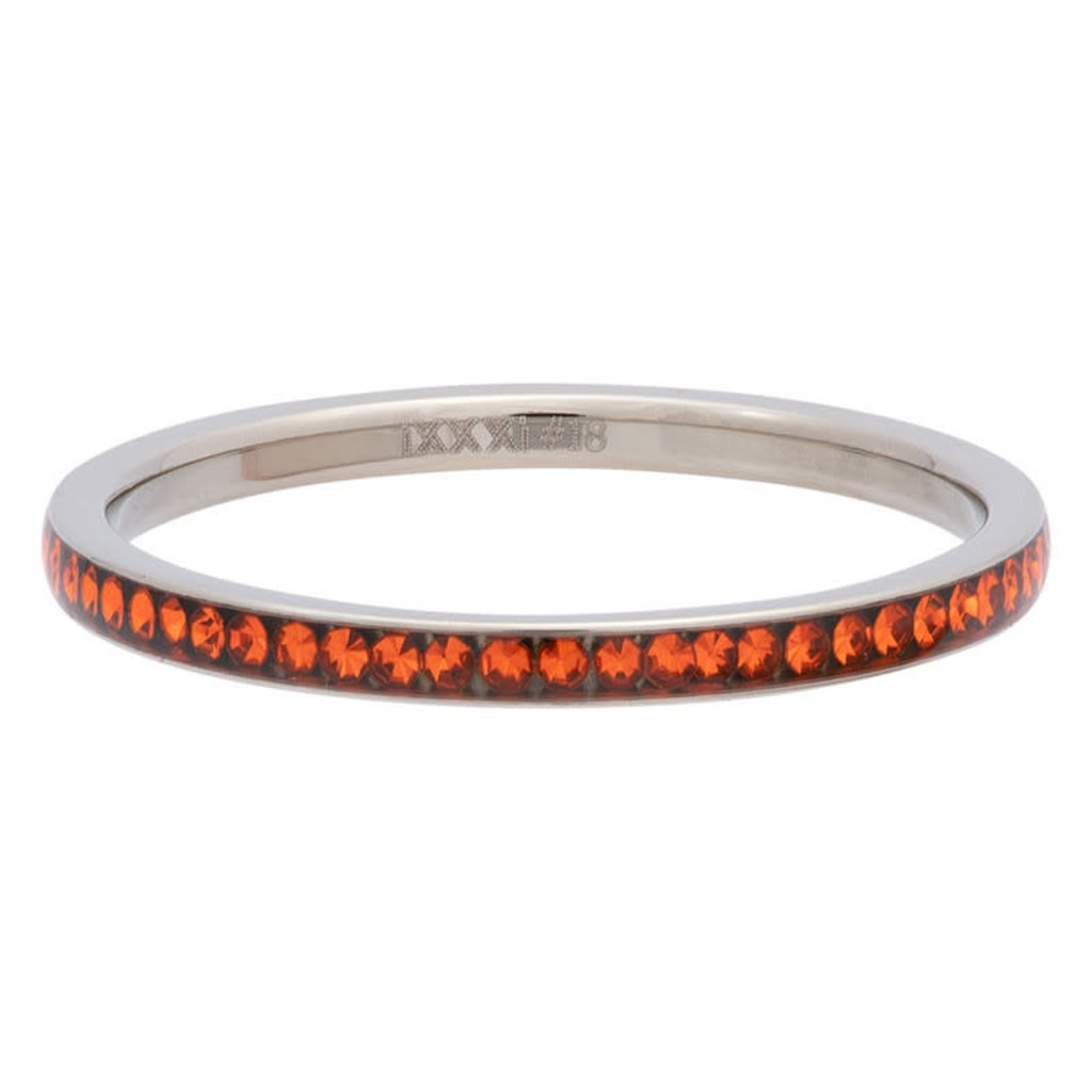 iXXXi Jewelry iXXXi vulring 2 mm Zirconia Sun Stainless Steel R02520-03