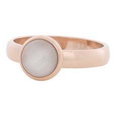 iXXXi Jewelry iXXXi vulring 4 mm Cateye White Rosé Gold Plated R04308-02