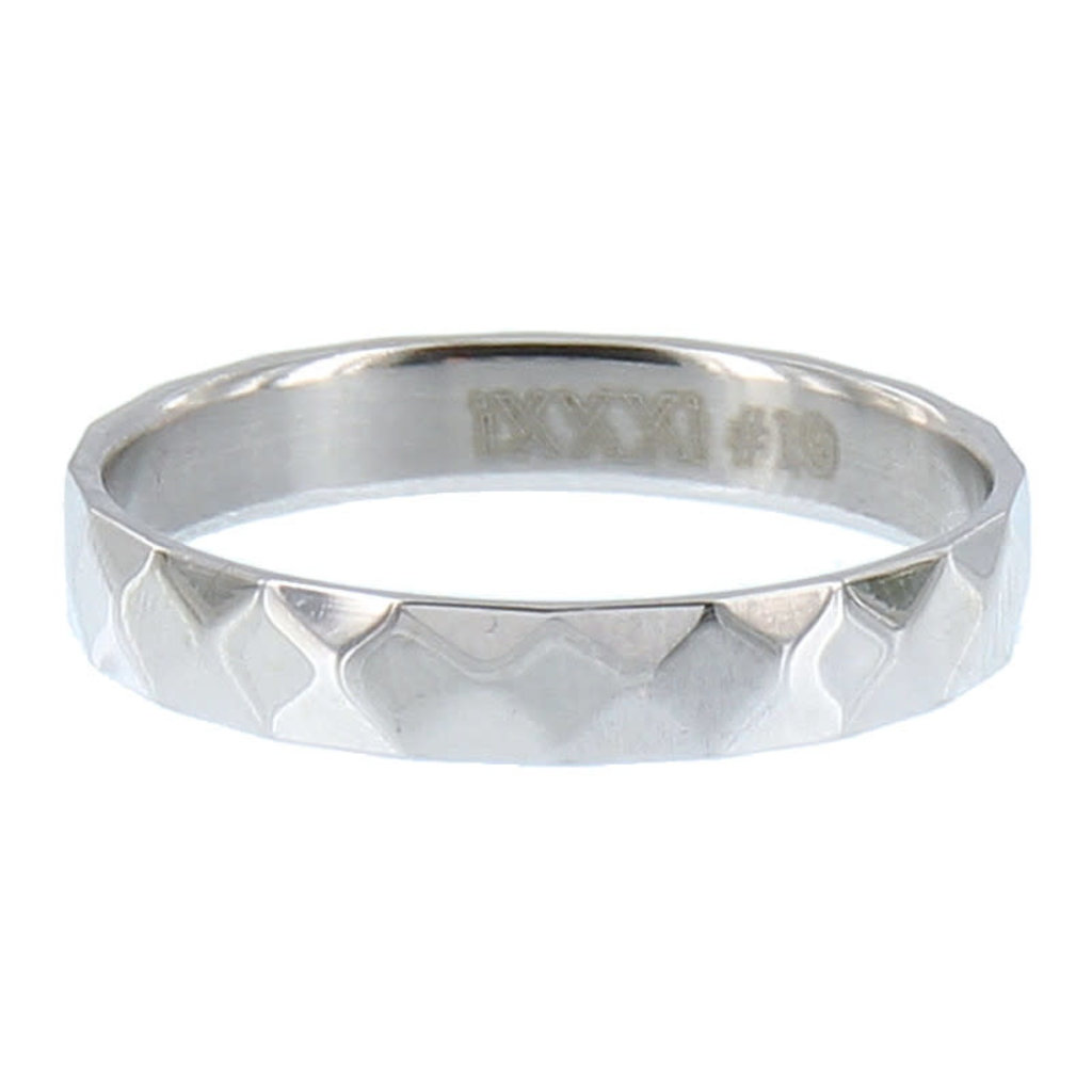 iXXXi Jewelry iXXXi vulring 4 mm Facet Steel Stainless Steel R02904-03