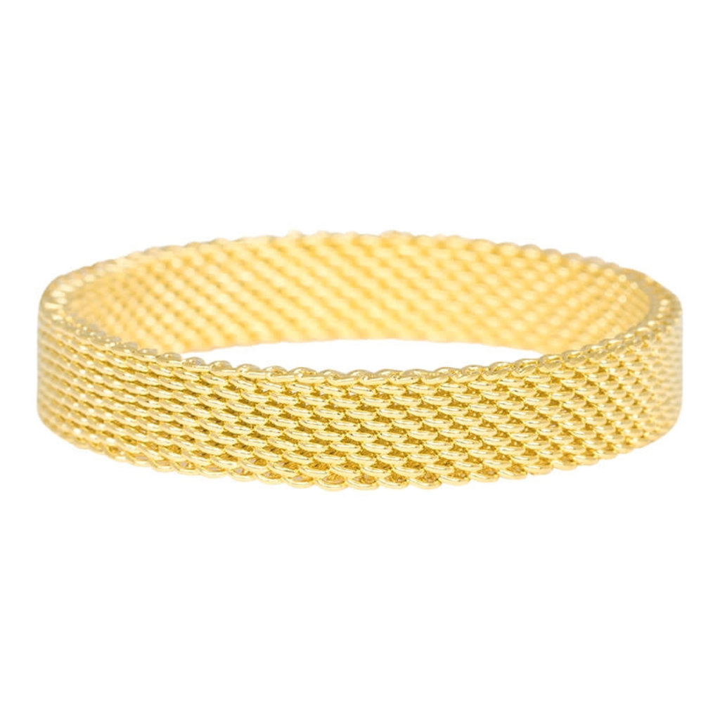 iXXXi Jewelry iXXXi vulring 4 mm Mesh Gold Plated R03206-01