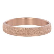 iXXXi Jewelry iXXXi vulring 4 mm Sandblasted Rosé Gold Plated R02901-02