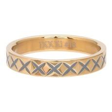 iXXXi Jewelry iXXXi vulring 4 mm X Line Gold Plated R03209-01