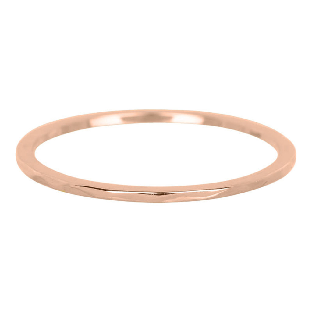 iXXXi Jewelry iXXXi vulring 1 mm Wave Rosé Gold Plated R03901-02