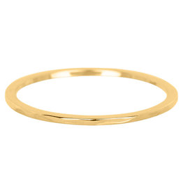 iXXXi Jewelry iXXXi vulring 1 mm Wave Gold Plated R03901-01