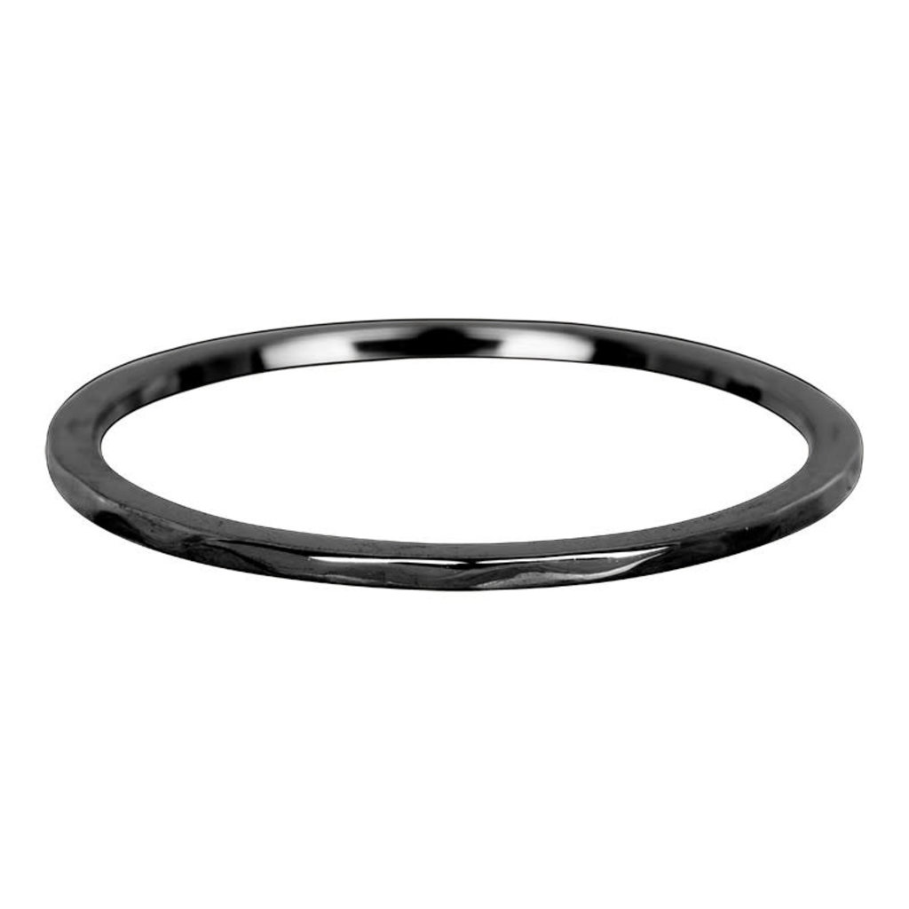 iXXXi Jewelry iXXXi vulring 1 mm Wave Black R03901-05