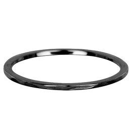 iXXXi Jewelry iXXXi vulring 1 mm Wave Black R03901-05