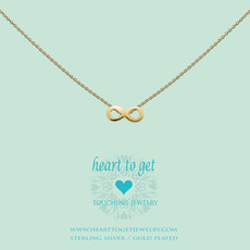 Heart to Get Heart for Initials hanger Symbol Infinity
