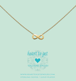 Heart to Get Heart for Initials hanger Symbol Infinity