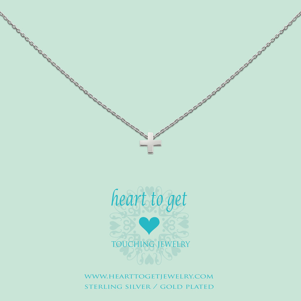 Heart to Get Heart for Initials hanger Symbol + (plus)