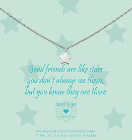 Heart to Get Heart to Get ketting Star Silver
