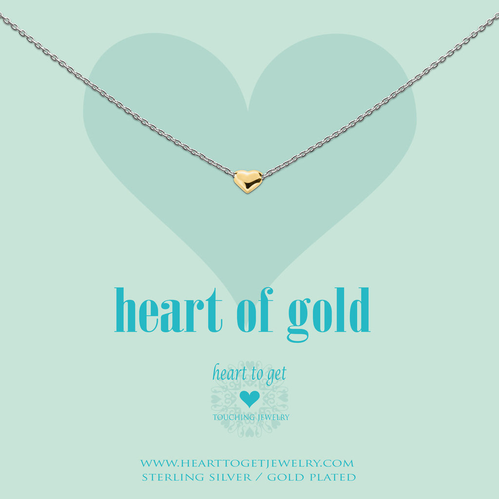 Heart to Get Heart to Get ketting Heart of Gold