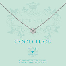Heart to Get Heart to Get ketting Clover Silver