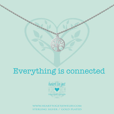 Heart to Get Heart to Get ketting Tree Of Life Silver