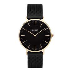CLUSE CLUSE horloge La Boheme Mesh Black Black/Gold