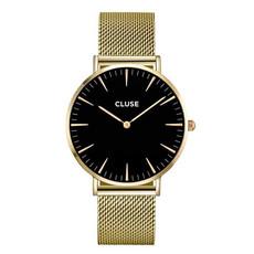 CLUSE CLUSE horloge La Bohème Mesh Gold/Black
