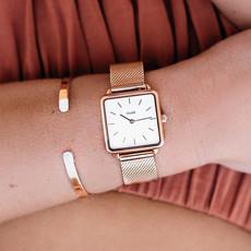 CLUSE CLUSE La Tétragone Mesh Rosé Gold/White CL60003