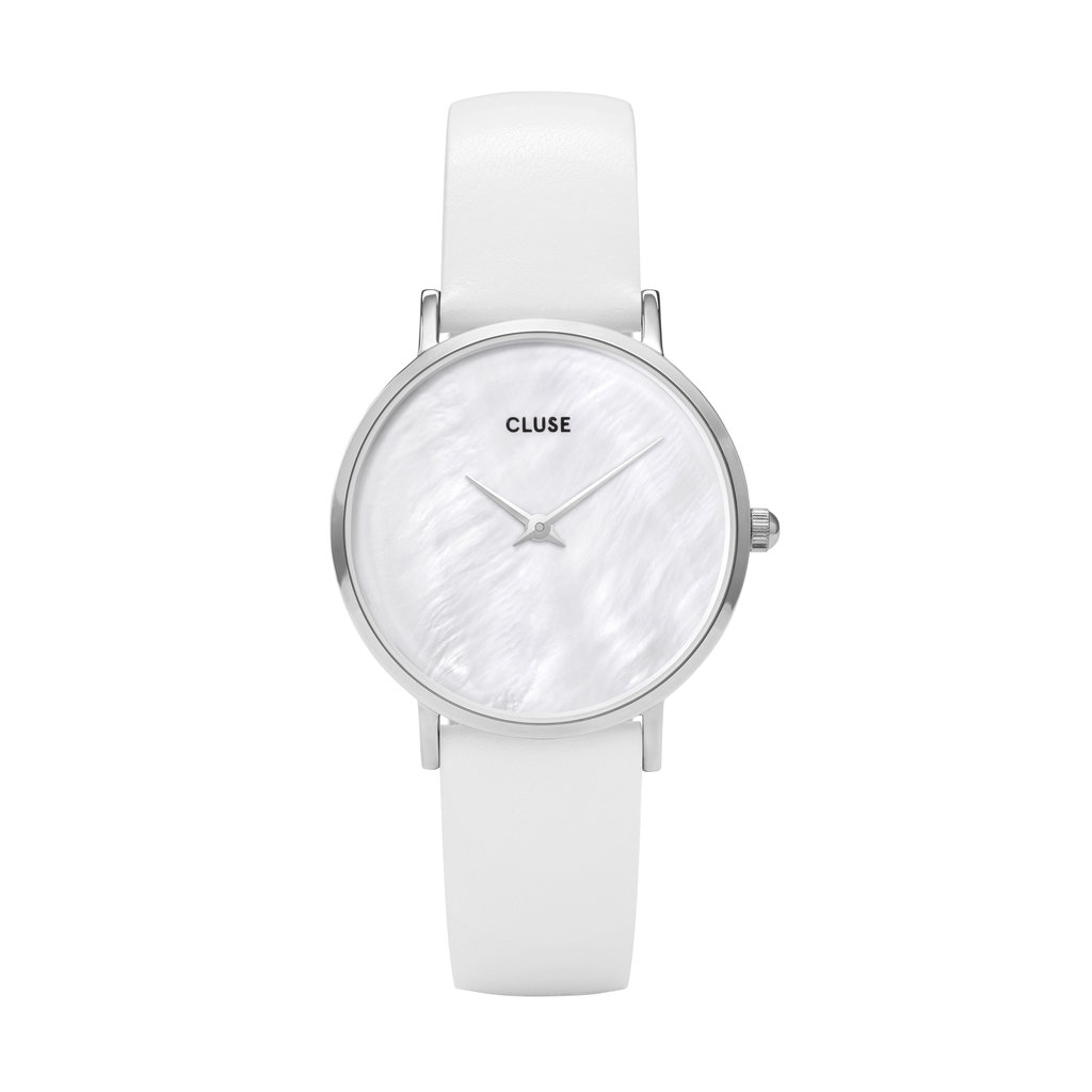 CLUSE CLUSE horloge Minuit Silver/White Pearl