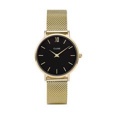 CLUSE CLUSE horloge Minuit Mesh Gold/Black