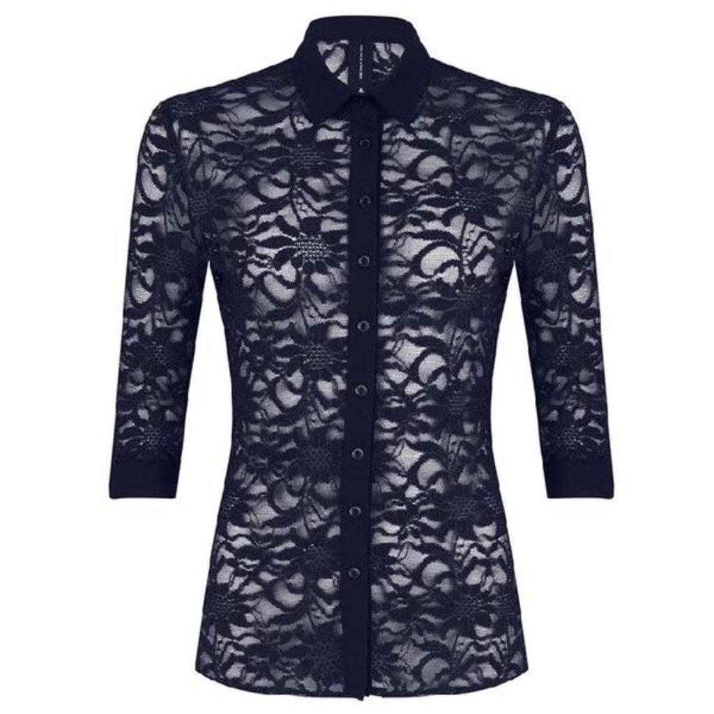 Jane Lushka Jane Lushka blouse UM719SS10 blue