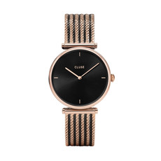 CLUSE CLUSE Triomphe Mesh Bicolour Rose Gold /Black CL61005