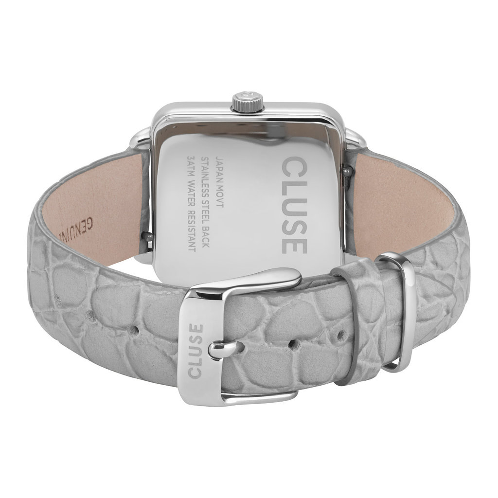 CLUSE CLUSE La Tétragone Silver/Grey CL60018