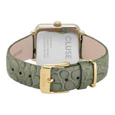 CLUSE CLUSE horloge La Tétragone Gold/Army