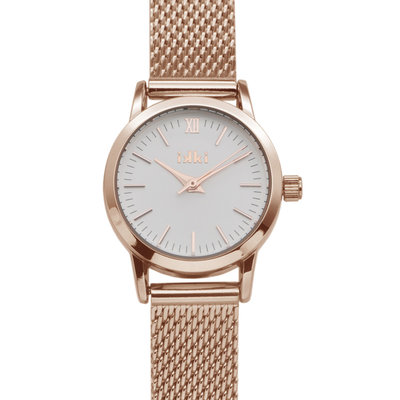 IKKI IKKI horloge Zia ZA07 Rose Gold Silver