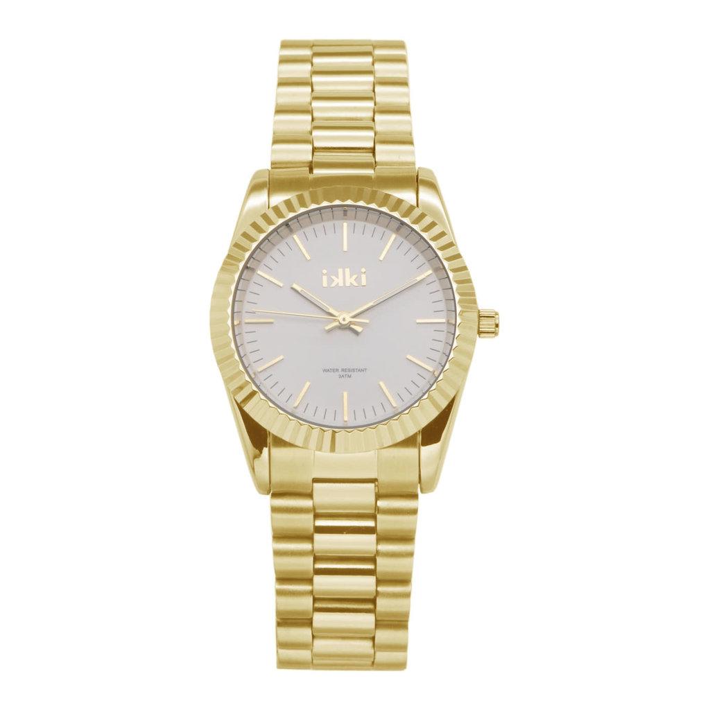 IKKI IKKI horloge Bronx BX07 Gold
