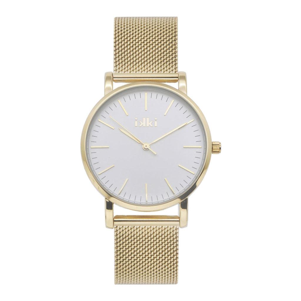 IKKI IKKI horloge Jamy JM04 Gold Silver