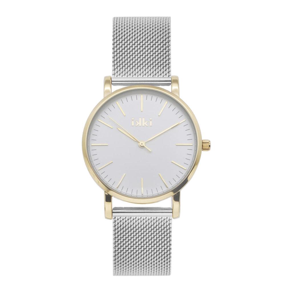 IKKI IKKI horloge Jamy JM09 Silver Gold